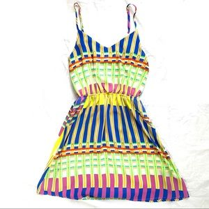 Everly Dresses - Everly Multicolored Dress Small
